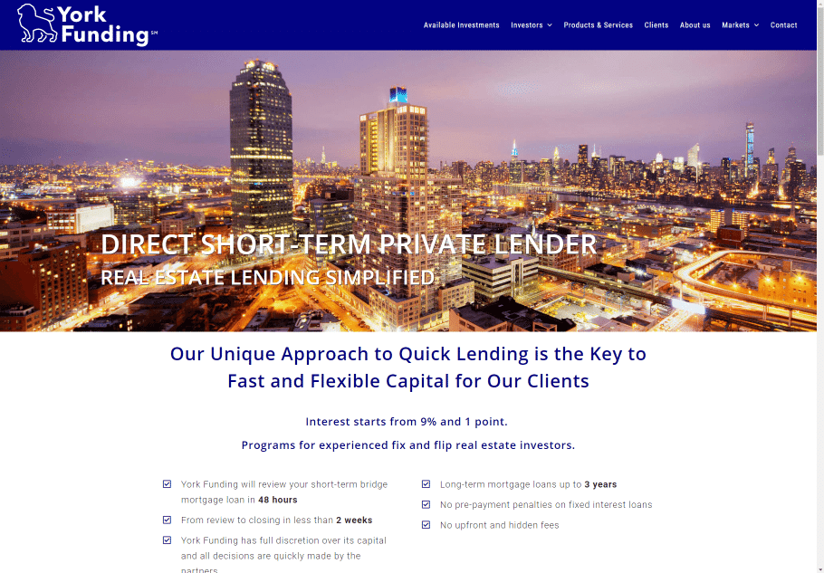 York Funding LLC